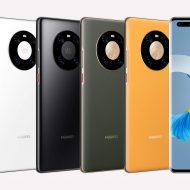 Les différents coloris du Huawei Mate 40 Pro