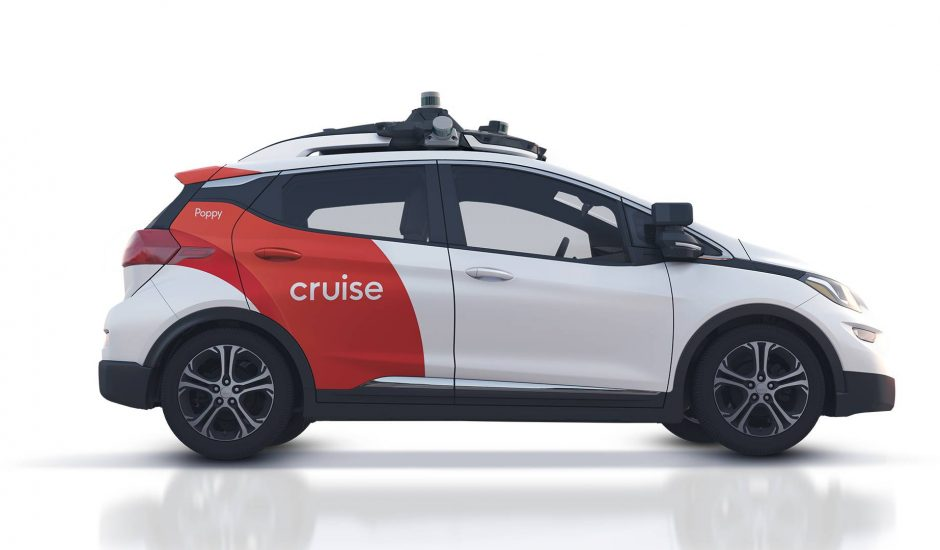 Un véhicule de Cruise.