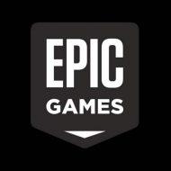 Le logo d'Epic Games.