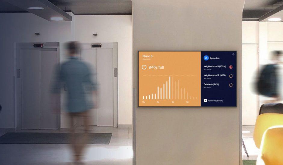 Illustration de l'article de Zoom dans des bureaux.