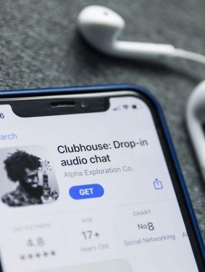 Aperçu du logo de Clubhouse.
