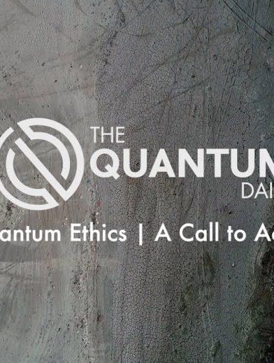 """L'image de présentation du mini-documentaire """"Quantum Ethics : A Call to Action"""" sur l'éthique de l'information quantique."""