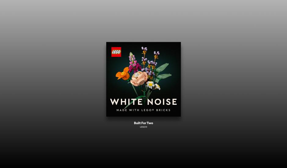 La vignette de la playlist Lego White Noise sur Spotify