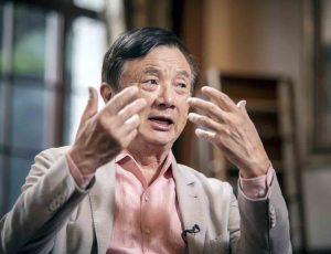 Aperçu de Ren Zhengfei.