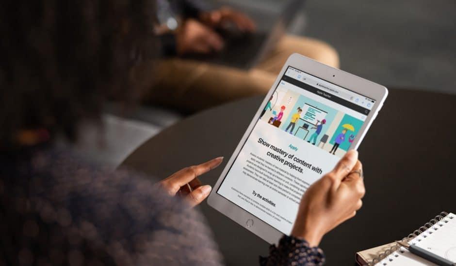 Le nouvel outil destiné à l'enseignement, Apple Teacher Portfolio est enfin disponible.
