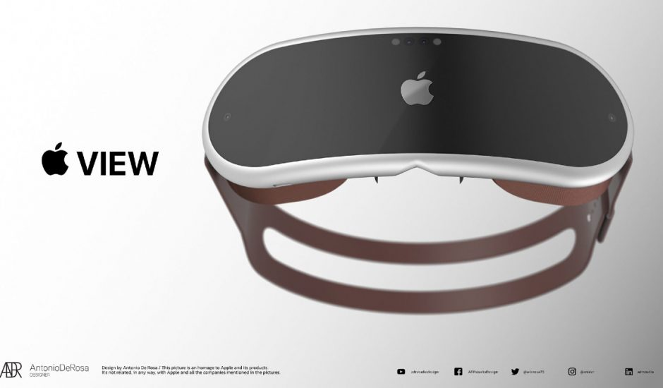 Apple lancerait ses futurs casques AR et VR en 2022 selon un analyste.