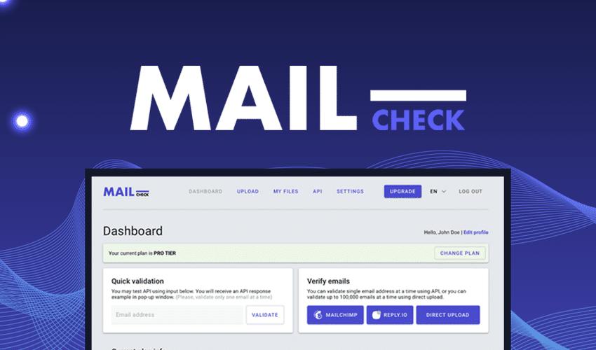 Mailcheck logo