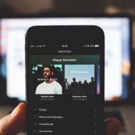 Aperçu de la nouvelle interface Spotify.