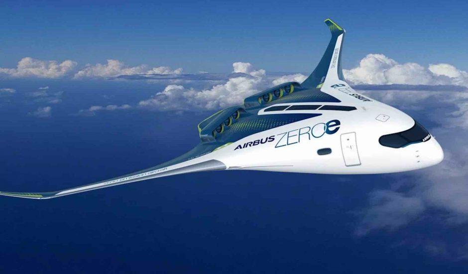 Aperçu des avions à hydrogène d'Airbus.