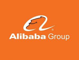 Le logo d'Alibaba