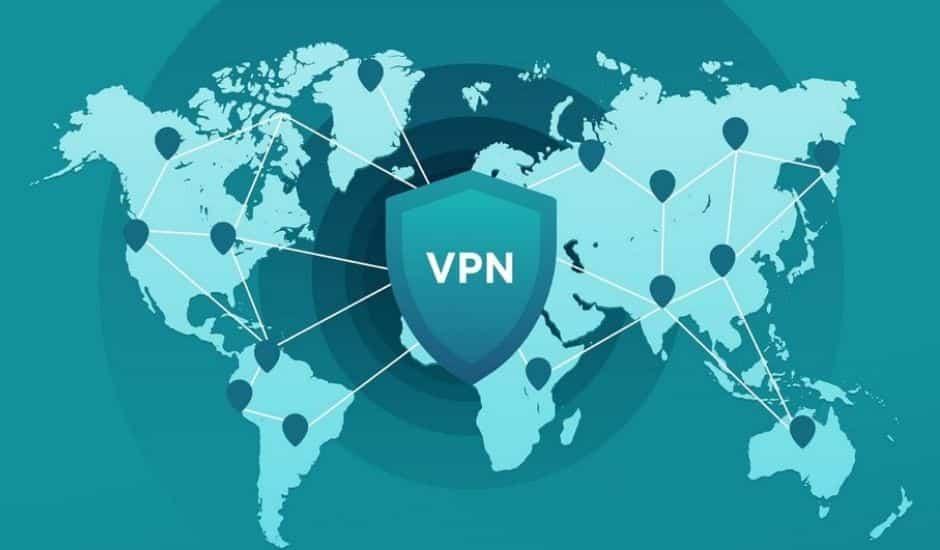 une vue d'artiste du fonctionnement d'un vpn