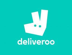 Le logo de Deliveroo.