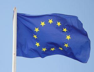 Le drapeau de l'Union européenne.