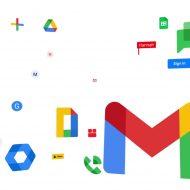Illustration présentant les icônes de Google Workspace