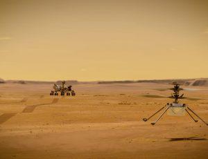 L'hélicoptère Ingenuity prend son envol sur Mars