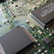 Image d'un micro-processeur. En Chine le secteur des semi-conducteurs reçoit de nombreux investissements.