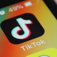 Icône TitkTok sur un téléphone iOS