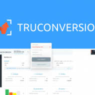 écran d'accueil de TruConversion