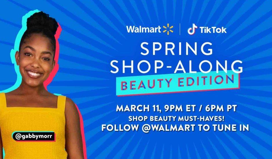 Illustration de l'événement de Walmart sur TikTok.