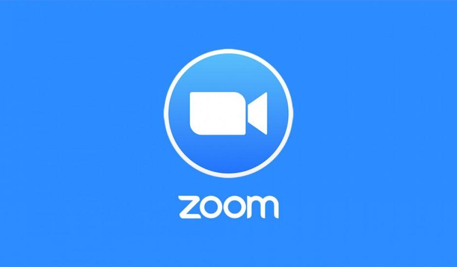 Le logo de Zoom.