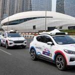 Des véhicules autonomes de Baidu.
