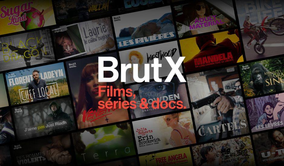 La nouvelle plateforme de streaming BrutX est sortie en France.