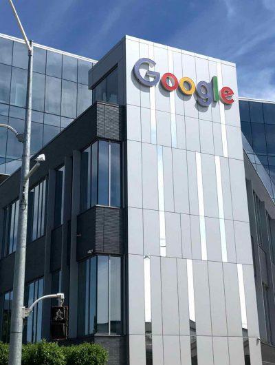 Aperçu des bureaux de Google.