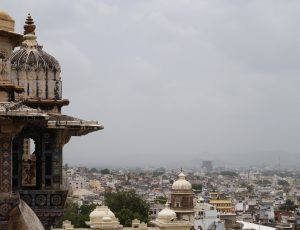 Aperçu d'une ville indienne.