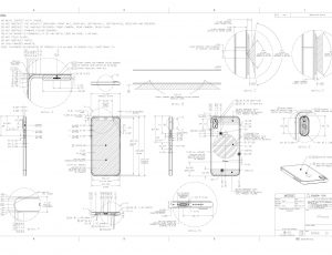 Aperçu des schémas de l'iPhone.