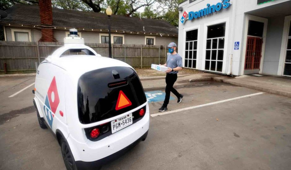 Aperçu des robots autonomes de Nuro.