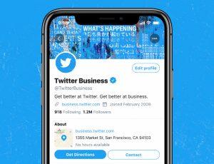 Twitter ouvre la voie aux comptes professionnels.