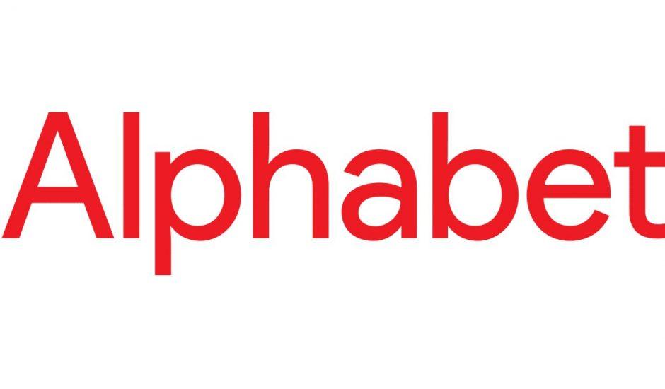 Logo de l'entreprise Alphabet, maison mère de Google
