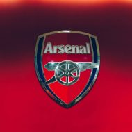 Le logo du club d'Arsenal.
