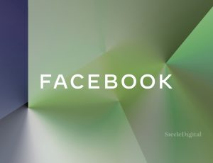 Une illustration du logo de Facebook.
