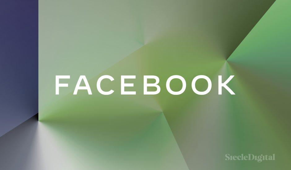 Une illustration du logo de Facebook.