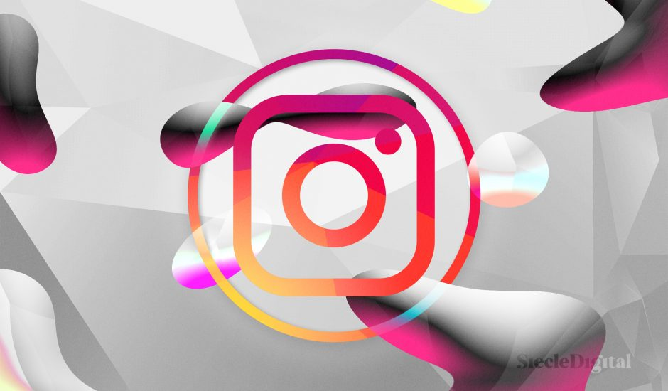 Illustration du logo d'Instagram.