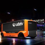 Le véhicule autonome sans chauffeur d'Udelv.