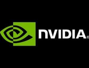 Le logo de Nvidia.