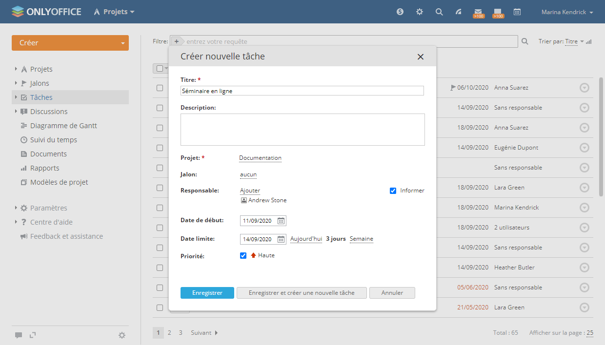 outil projet open source onlyoffice
