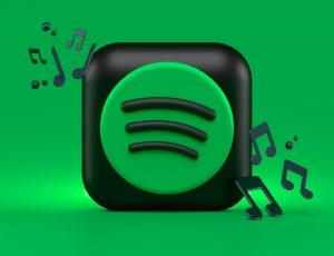 Illustration du logo de Spotify.