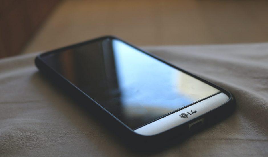 Un smartphone de la marque LG
