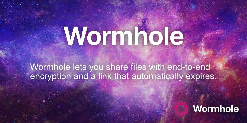 Wormhole présentation