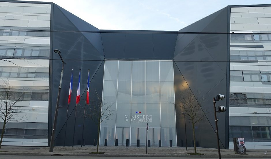 Bâtiment du ministère des Armées françaises