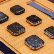 Aperçu de plusieurs Apple Watch.