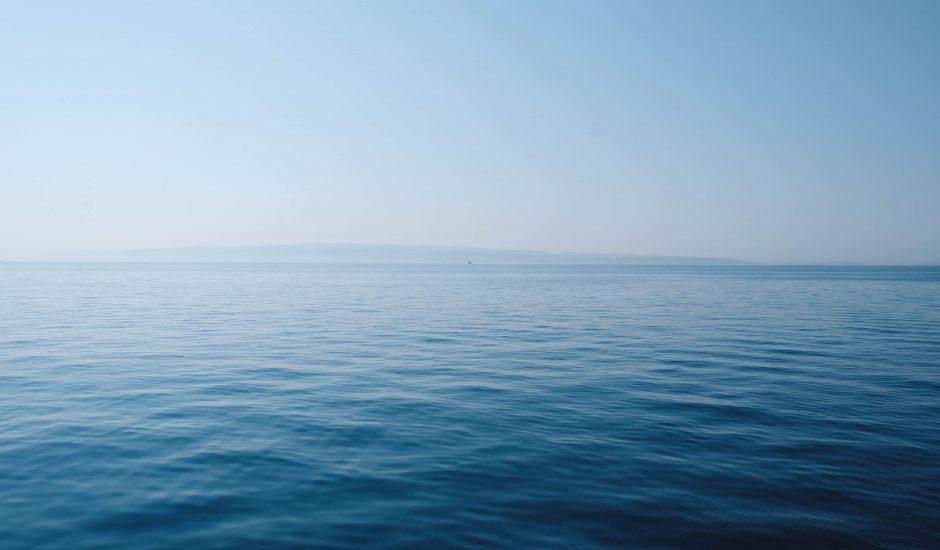 Photographie de l'océan. Sur 5ans, le français Alcatel Submarine Networks envisage de doubler son chiffre d'affaires dans le secteur des câbles sous-marins.