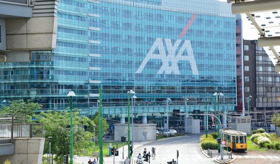 Aperçu d'un bureau d'AXA.