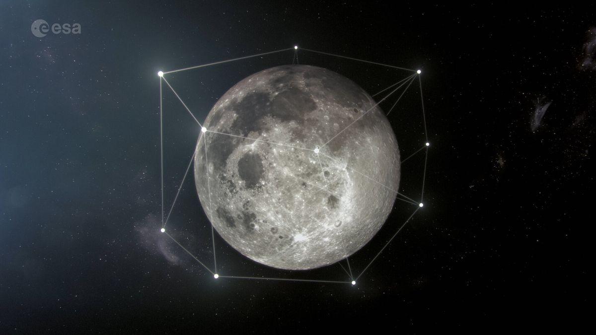 L'Europe projette de lancer une constellation de satellites autour de la Lune