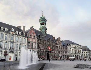 Aperçu d'une ville belge.