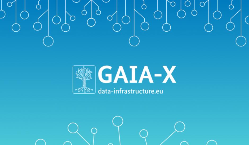 Logo du projet de cloud européen Gaia-X