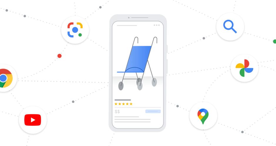 Illustration Google Shopping